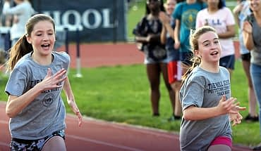 Hill School Gives Kids Running Start On Fun