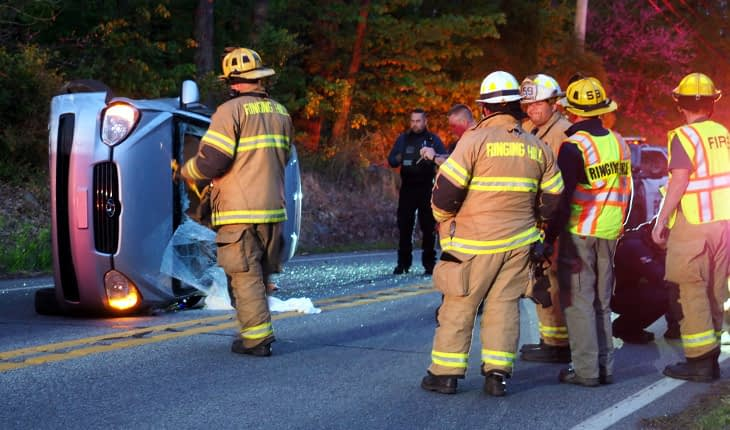 Sole Vehicle Driver Crashes on North Charlotte