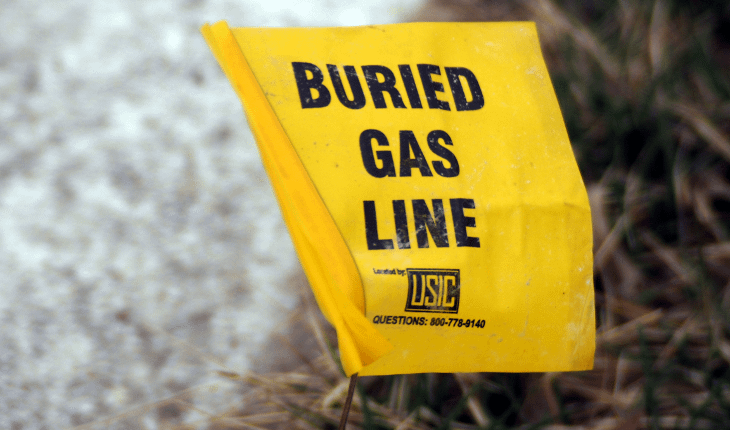 Gas Main Break Closed Busy Road Tuesday Morning