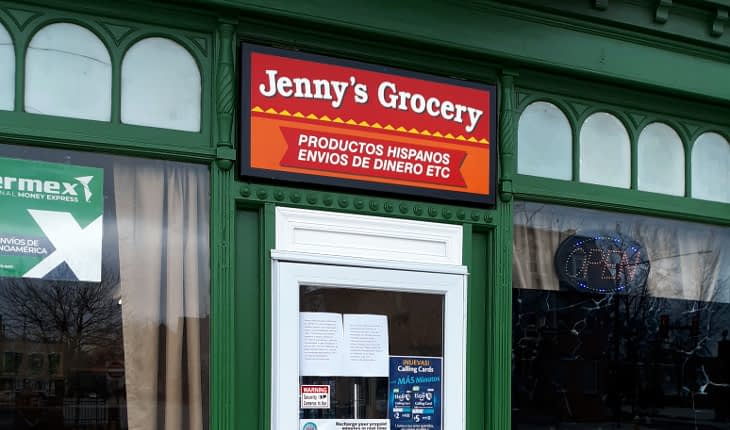 Jenny's Grocery Newest Downtown Borough Market