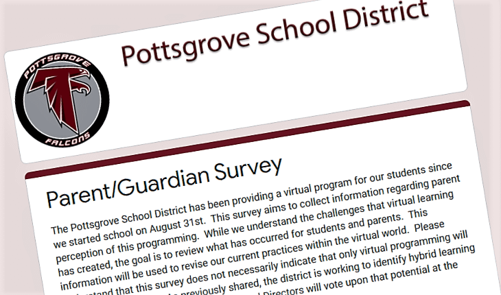 Pottsgrove Surveys Parents to Improve Virtual Lessons