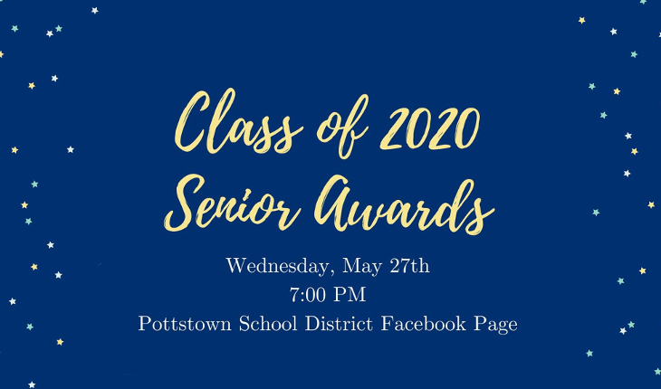 Pottstown Presents Senior Awards Wednesday