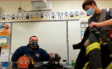 West End Video Teaches Pottsgrove Kids Fire Safety