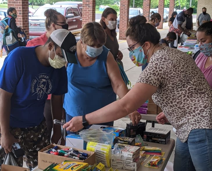 Schools' Open! Lower Pottsgrove Celebrates with Supplies, Books