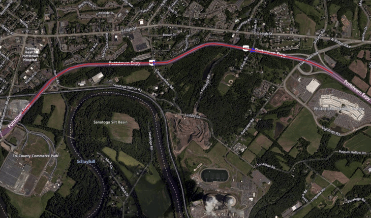 422 Lane Closures in Lower Pottsgrove for Pipe Installation
