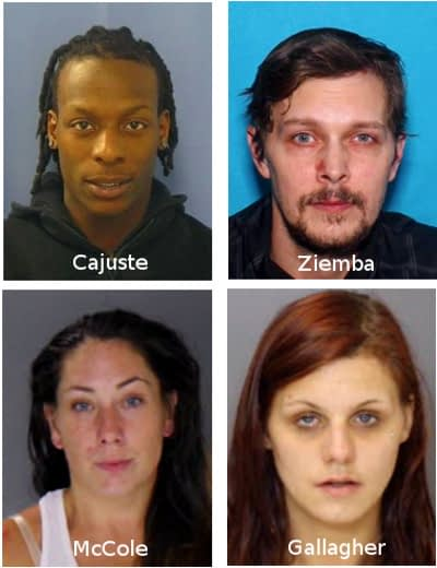 Most Wanted Include 3 from Pottstown, 1 from Pennsburg