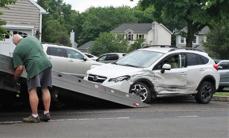 None Injured in Sanatoga Two-Car Accident Saturday