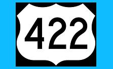 422 Lane Closures Next Week for Patching, Painting, Repair