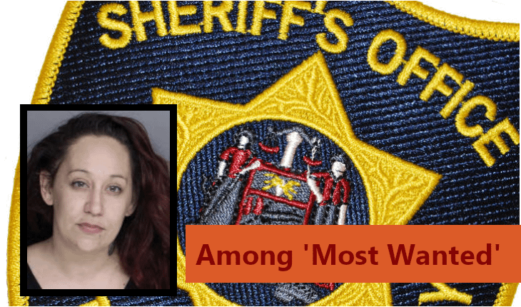 Former Pottstown Woman Joins Sheriff's 'Most Wanted'