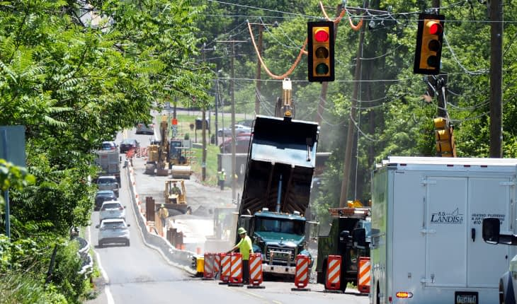 Expect Stops If Driving Route 63 Monday in Upper Salford