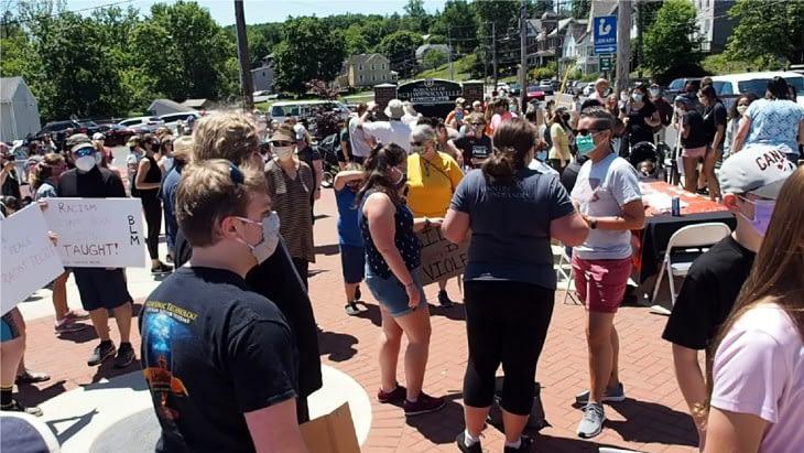 BLM Rally Schwenksville