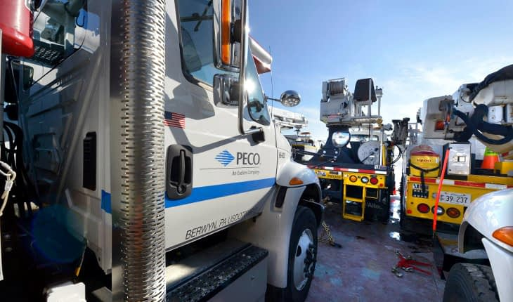 PECO Working Next Week in Pottstown, Lower Salford, Phoenixville