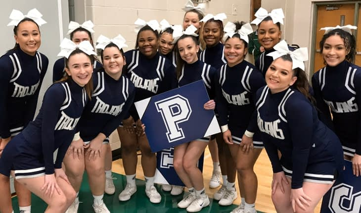 Pottstown Cheerleaders Compete in Championships