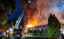 Flames Decimate Ashwood Apartments in North Coventry