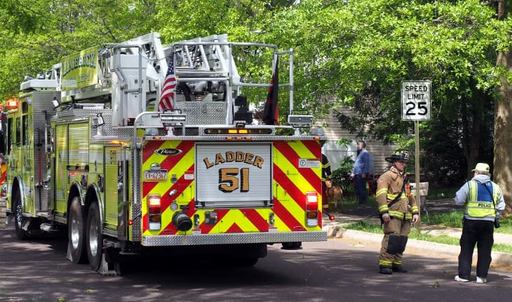 Limerick, Trappe Respond to Smoke-Filled Cellar