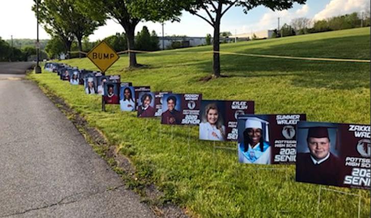 Senior Parade Among Ways 'Grove Honors Grads