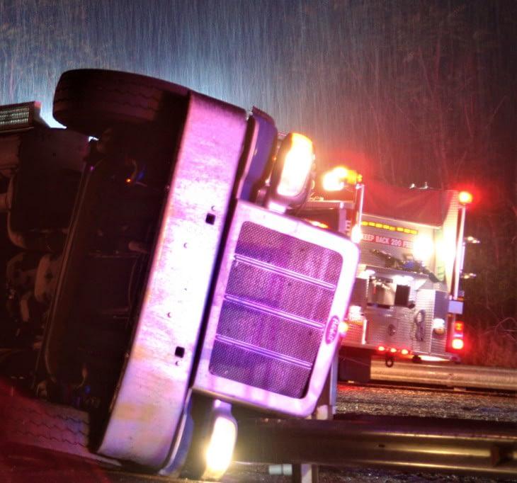 Dump Truck Accident Occurs Thursday on 422 East