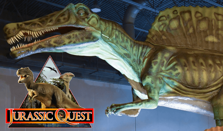 Moved from Oaks to Meet Demand, 'Jurassic Quest' Set to Open