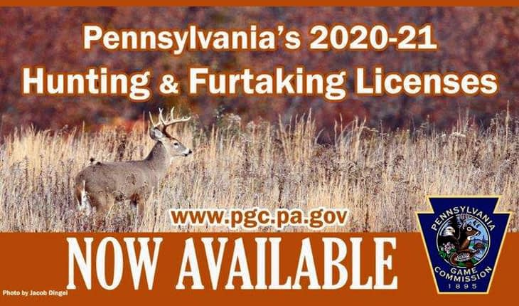 Pennsylvania Hunting Licenses Now Being Sold