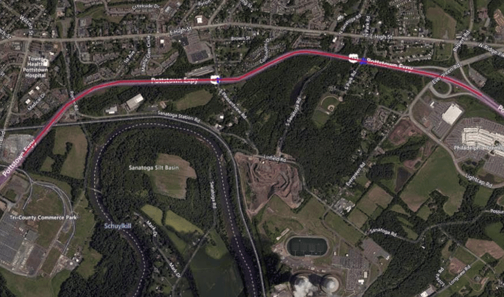 Pipe Installation Prompts Night Lane Closures in Lower Pottsgrove