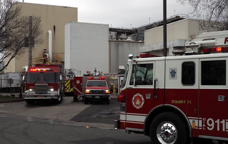 Area Fire Companies Roll to Blommer Chocolate
