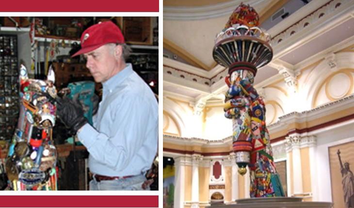 Artists Guild Sponsors Sculptor Sewell Presentation
