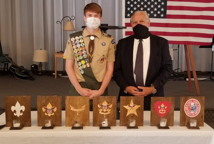 Stowe's Simon Keen Earns Eagle Scout Honors