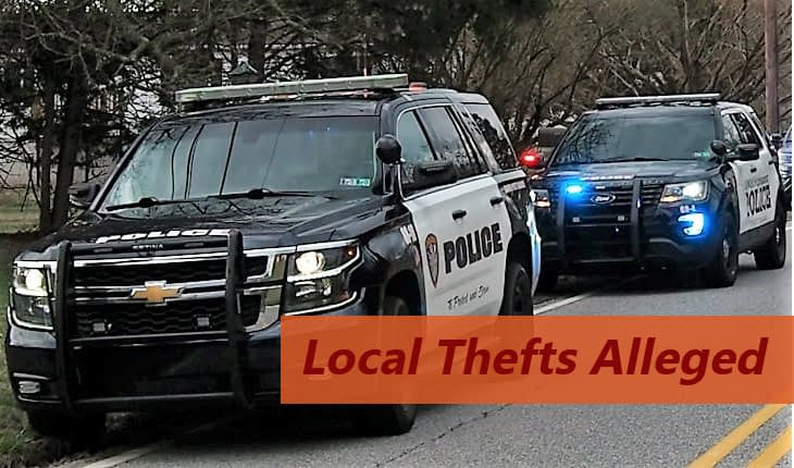 Police Charge Pottstown Man with Thefts from Vehicles