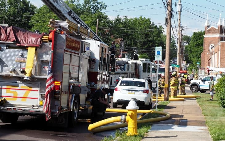 'Best Possible Outcome' Thursday at Stowe Fire: No Injuries, Light Damage