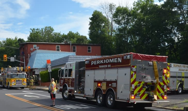Schwenksville Laundromat Fire Quickly Extinguished