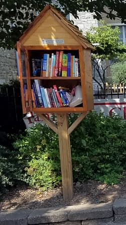Pottstown Church Opens Two Little Free Libraries