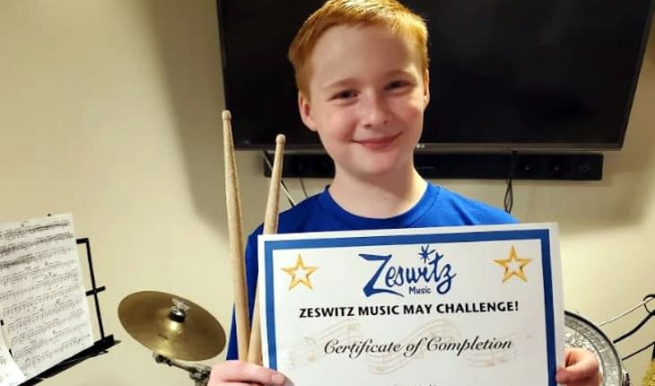 Pottstown Sixth Grader Wins Music Challenge