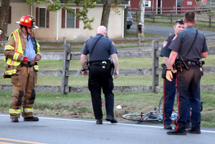 Bicyclist Taken To Hospital After Rupert Road Incident