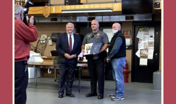 Pennsburg Parade, Certificates Honor First Responders