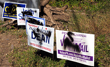 Woodgate Residents Take Note of Election Vandalism