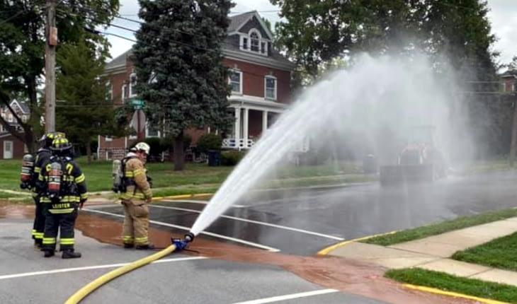 Gas Line Damage Prompts Royersford Corner Evacuation