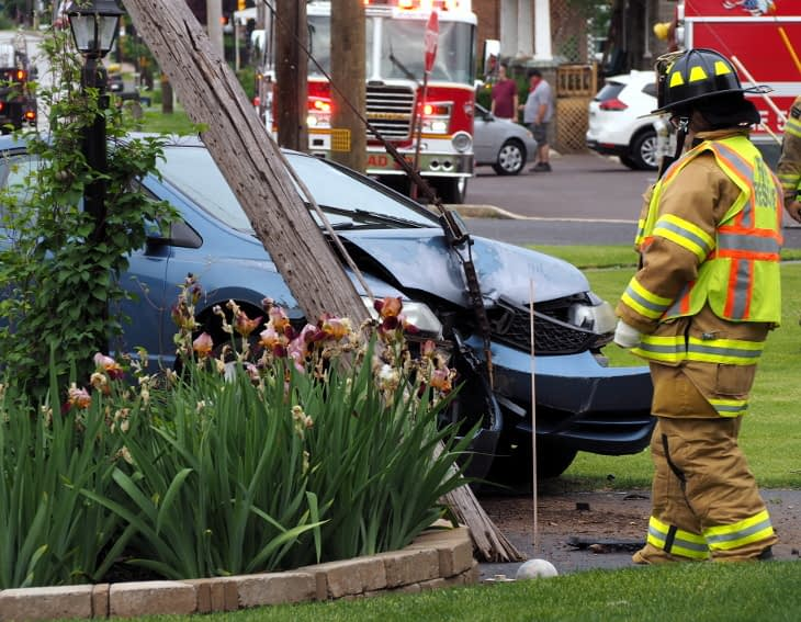 None Injured in Tuesday Morning Sanatoga Crash